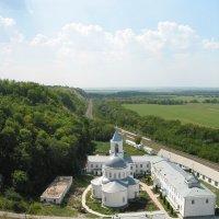 Вид на Дивногорский монастырь с храмовой горы :: Максим Красиков