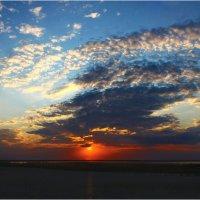 Облака на лимане (Сиваш) :: Виктор Марченко