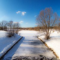 Битца в весне :: Ильдар Ситдиков