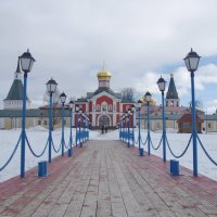 Иверский мужской монастырь. :: Ирина Нафаня