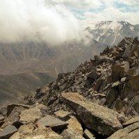 горы. фото пик Алматинский. :: Горный турист Иван Иванов