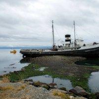 Корабль у берегов Ушуайи :: Irina Shtukmaster