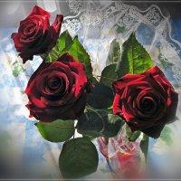 Дарите женщинам цветы.. :: Татьяна и Александр Акатов