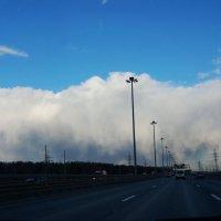 а впереди завеса облаков :: Валентина Папилова