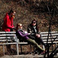 Девушки и ВЕСНА Фото №4 :: Владимир Бровко