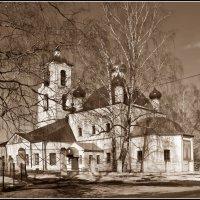 Церковь Николая Чудотворца в Вашке :: Дмитрий Анцыферов