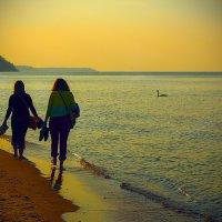 Вечерние прогулки по Янтарному берегу. :: Алла ************