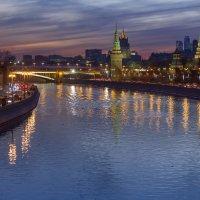 Огни Москвы :: Алексей Окунеев