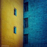 Урбанометрия. Геометрия цвета. :: Евгений Верещагин