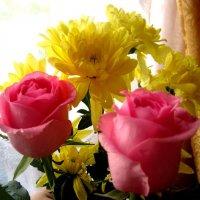 Весенний, солнечный букетик :: Елена Семигина