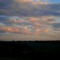 Розовый жемчуг...вечернего неба.... :: Людмила Богданова (Скачко)