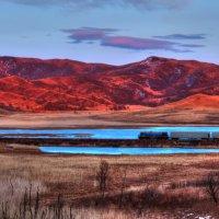 Поезд на закате :: Юрий Скороход