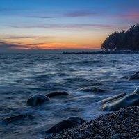 Закат на море :: Александр Хорошилов