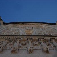 Белокаменная резьба. Дмитриевский собор 12 века. Г.Владимир. :: Евгения Куприянова