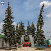 Калуга. Памятник паровозу :: Алексей Шаповалов Стерх