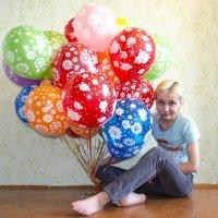 В шарах :: Виктория Большагина