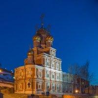 Вечерняя Рождественская... :: Дмитрий Гортинский