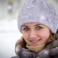 Снежный портрет :: Евгений Никифоров