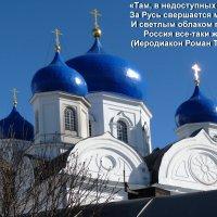 Во славу Богородицы купола окрашены в голубой цвет. :: Galina Leskova
