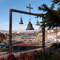 Тбилиси. Вид на центр города от Метехской церкви :: Ольга Говорко