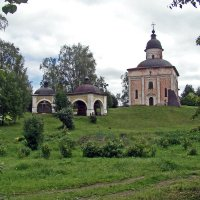 Церковь Иоанна Предтечи   1534г. :: Анатолий Смирнов