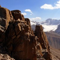 горы. вид с горы Советов :: Горный турист Иван Иванов