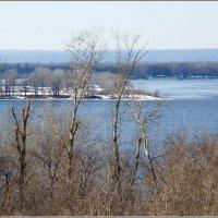 Волга в марте :: Арсений Корицкий