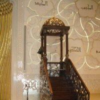 Белая мечеть шейха Зайда в Абу-Даби ОАЭ :: Наталья Маркелова