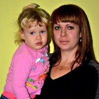 Любовь с дочкой :: Валентина Манюгина