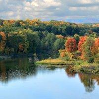 На озере. :: Анатолий