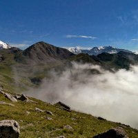горы. с высоты 3600 м :: Горный турист Иван Иванов