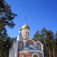 Церковь Троицы Живоначальной в Академгородке (Новосибирск) :: Мила Бовкун