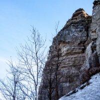 Скала на Камском Устье :: Эльвира Сагдиева