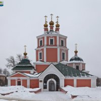 Гжатск (Гагарин). Казанский храм :: Алексей Шаповалов Стерх