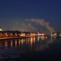 Ночная Москва-река :: Дарья Новикова