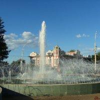 Привокзальная площадь,фонтан :: °•●Елена●•° Аникина♀
