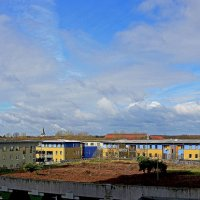 Весенняя панорама с балкона :: Alexander Andronik