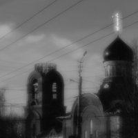 Строящийся  Храм Петра  и  Павла. :: Валерия  Полещикова