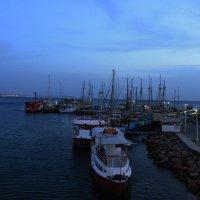 эйлатский порт :: Адик Гольдфарб