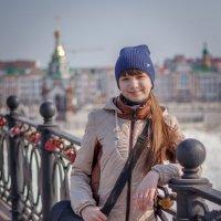 Прогуливаясь по любимой набережной :: Андрей Гриничев