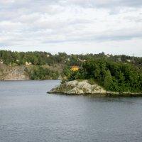 Остров. Выход из порта Стокгольм. :: Алексей Жуков
