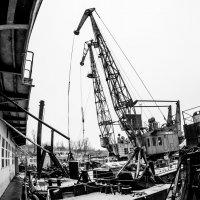 портовые краны ПСРМ №587 :: Roman Rez