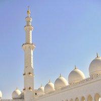 Белая мечеть шейха Зайда :: Наталья Маркелова