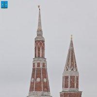 Богоявленский Старо-Голутвин монастырь. Северо-восточная и Надкладезная башни :: Алексей Шаповалов Стерх