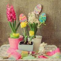 С весной и Пасхой-яркие краски! :: Алина
