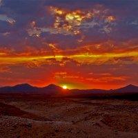 горячее небо пустыни. :: Alexander Andronik