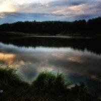 Вечер на озере :: Сергей Семенов