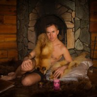 The host of the hunting lodge :: Sergey Oslopov