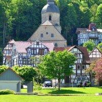 Весна в Германии, городок Бад Зооден-Алендорф. :: Елена