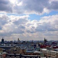 Московские крыши. :: vkosin2012 Косинова Валентина